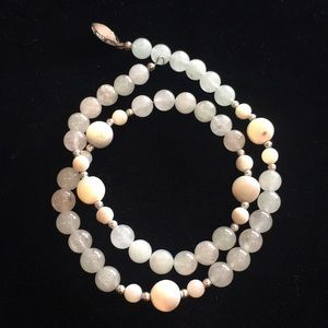 Jewelry - Antique Jade Colored Necklace